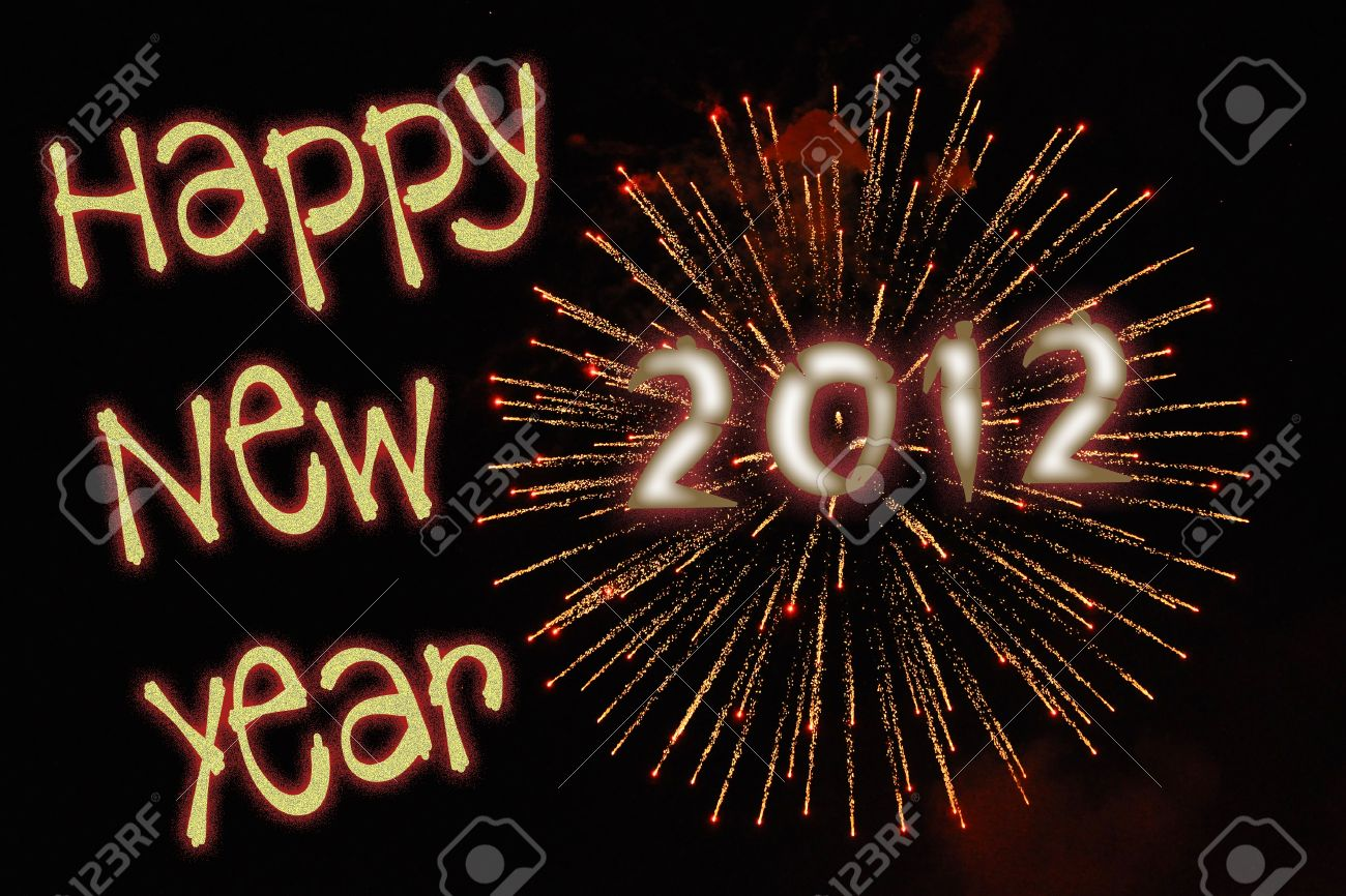 11790353-happy-new-year-2012-fireworks-and-font-stock-photo
